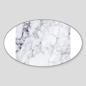 White & Gray Faux Marble Sticker