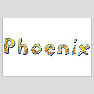 Phoenix Giraffe Large Poster