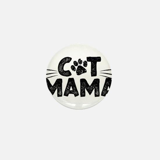 Cat Mama Mini Button