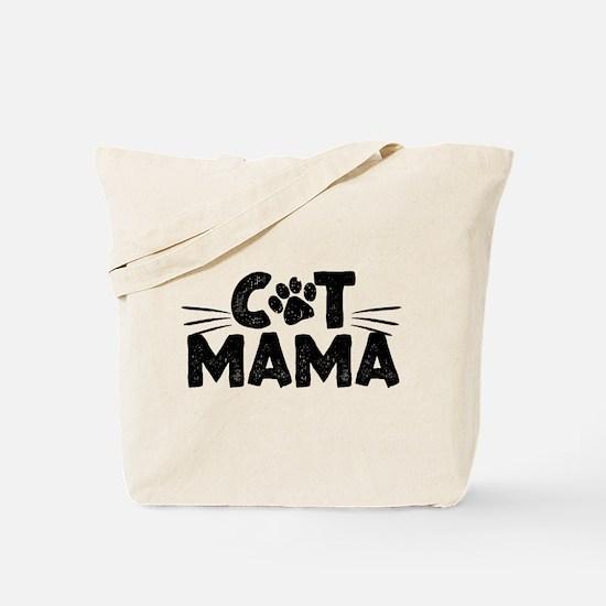 Cat Mama Tote Bag