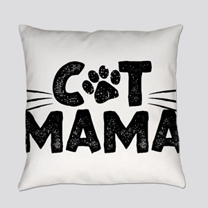 Cat Mama Everyday Pillow