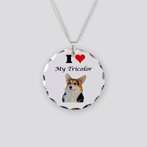 I love my Tricolor Corgi Necklace