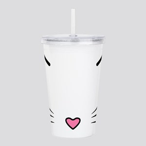 Cat Whiskers Acrylic Double-wall Tumbler