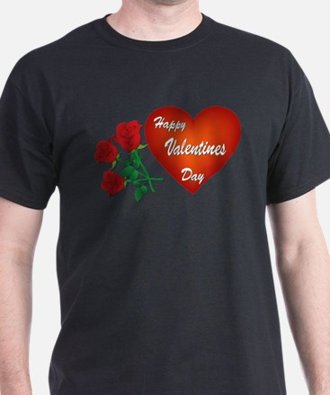 Heart and Roses T-Shirt