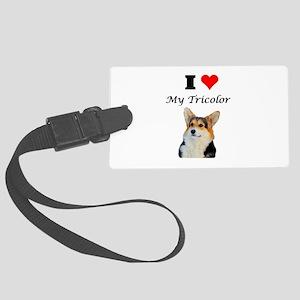 I love my Tricolor Corgi Luggage Tag