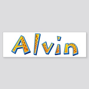 Alvin Giraffe Bumper Sticker