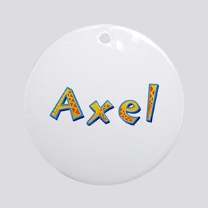 Axel Giraffe Round Ornament