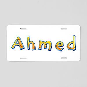 Ahmed Giraffe Aluminum License Plate