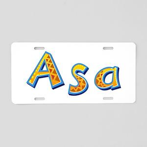 Asa Giraffe Aluminum License Plate