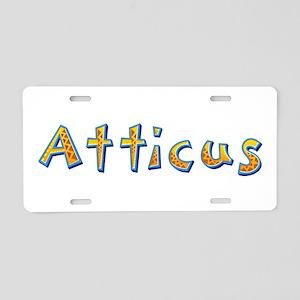 Atticus Giraffe Aluminum License Plate