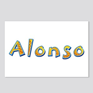 Alonso Giraffe Postcards 8 Pack
