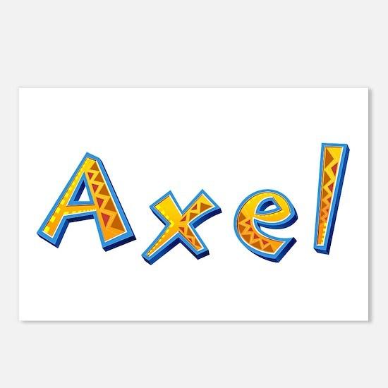 Axel Giraffe Postcards 8 Pack