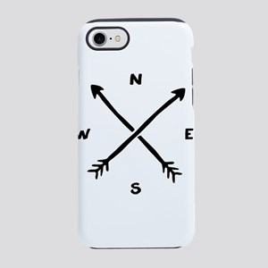 Compass Arrow iPhone 7 Tough Case