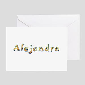 Alejandro Giraffe Greeting Card