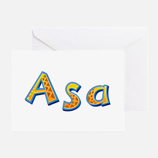 Asa Giraffe Greeting Card