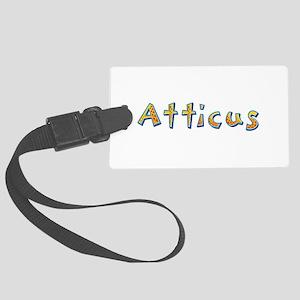 Atticus Giraffe Large Luggage Tag