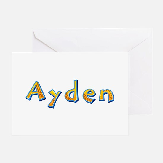 Ayden Giraffe Greeting Card