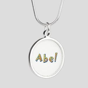 Abel Giraffe Silver Round Necklace
