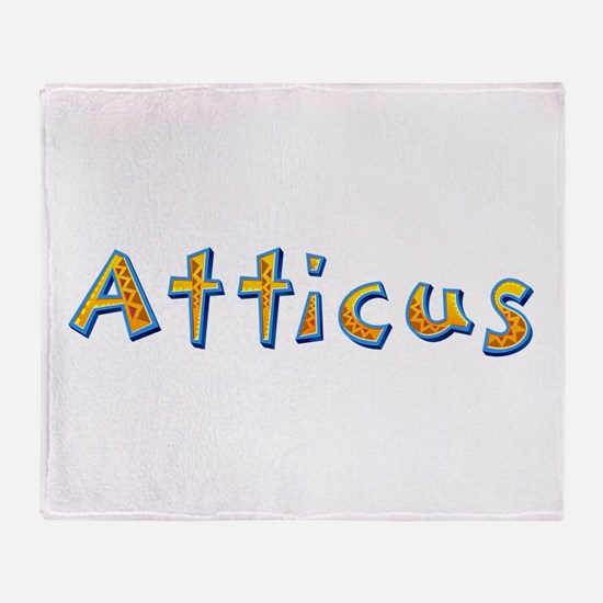Atticus Giraffe Throw Blanket