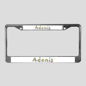 Adonis Giraffe License Plate Frame