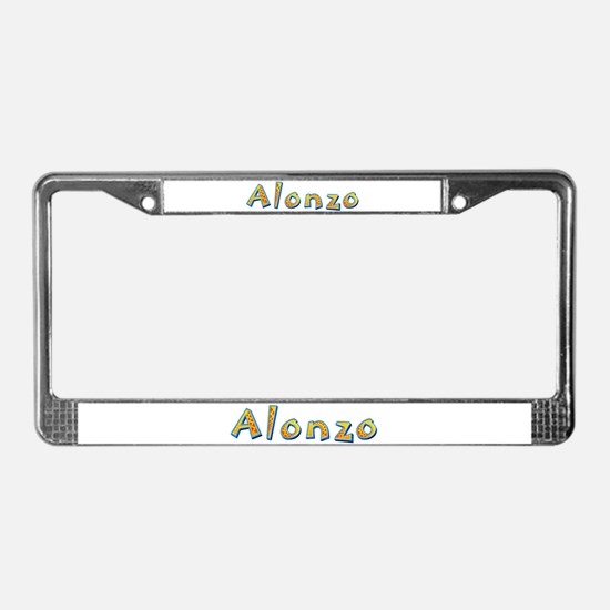 Alonzo Giraffe License Plate Frame