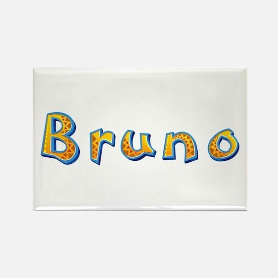 Bruno Giraffe Rectangle Magnet