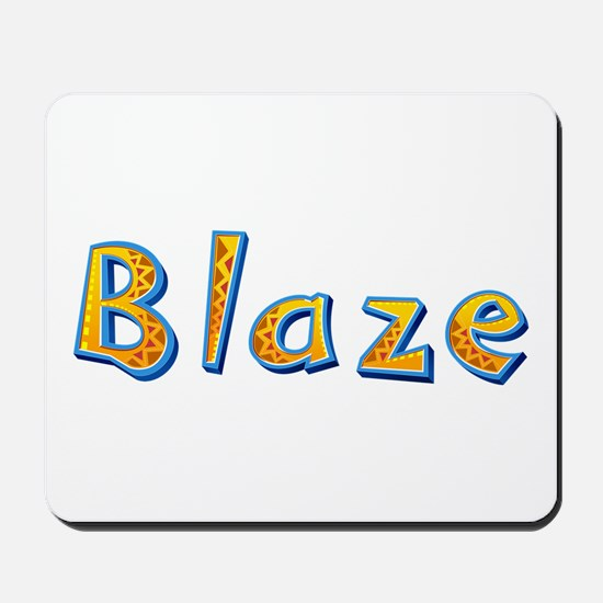 Blaze Giraffe Mousepad