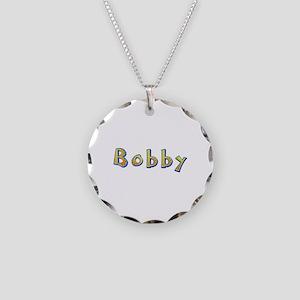 Bobby Giraffe Necklace Circle Charm