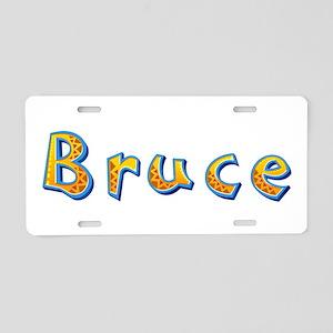 Bruce Giraffe Aluminum License Plate