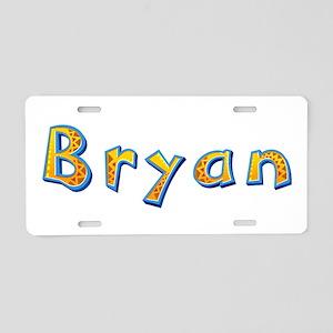 Bryan Giraffe Aluminum License Plate