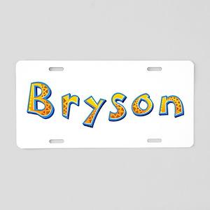 Bryson Giraffe Aluminum License Plate
