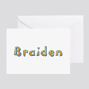 Braiden Giraffe Greeting Card