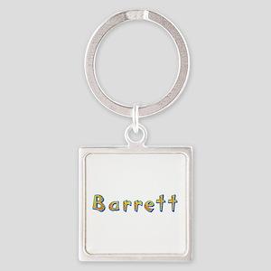 Barrett Giraffe Square Keychain