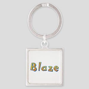 Blaze Giraffe Square Keychain
