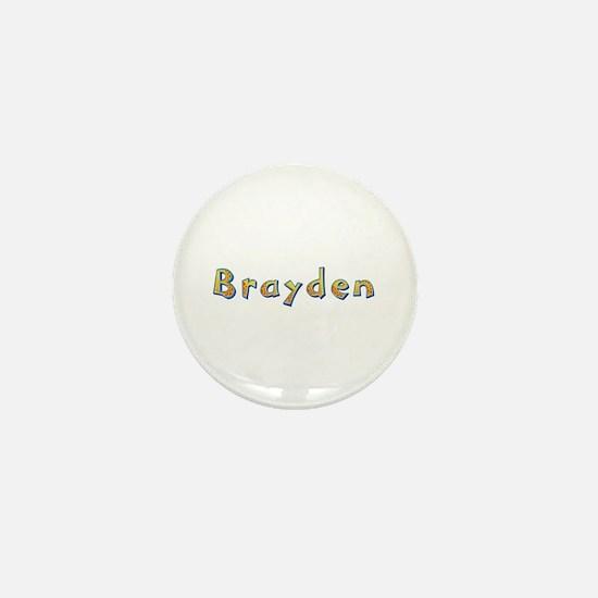 Brayden Giraffe Mini Button