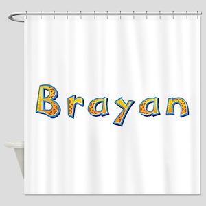 Brayan Giraffe Shower Curtain