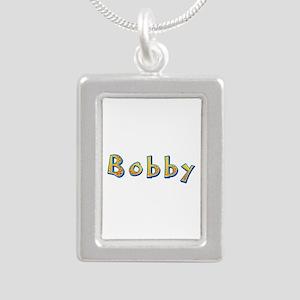 Bobby Giraffe Silver Portrait Necklace