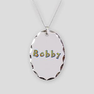 Bobby Giraffe Oval Necklace