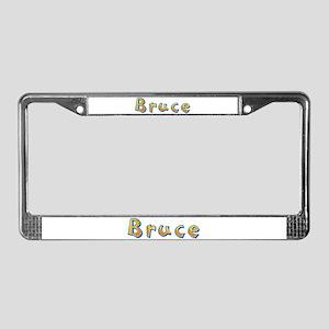 Bruce Giraffe License Plate Frame