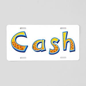 Cash Giraffe Aluminum License Plate