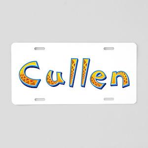 Cullen Giraffe Aluminum License Plate