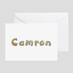 Camron Giraffe Greeting Card