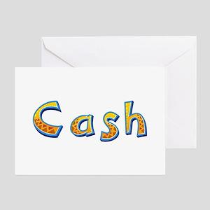 Cash Giraffe Greeting Card