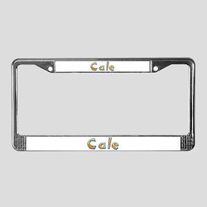 Cale Giraffe License Plate Frame