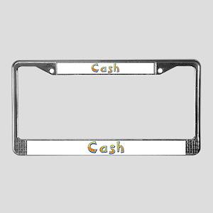 Cash Giraffe License Plate Frame