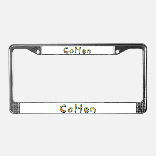 Colten Giraffe License Plate Frame