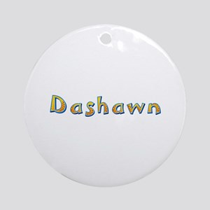 Dashawn Giraffe Round Ornament
