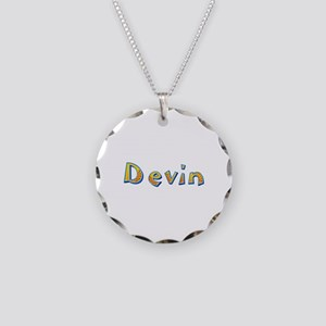Devin Giraffe Necklace Circle Charm