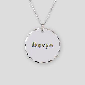 Devyn Giraffe Necklace Circle Charm