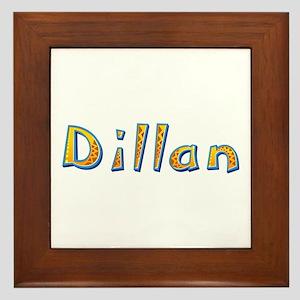 Dillan Giraffe Framed Tile